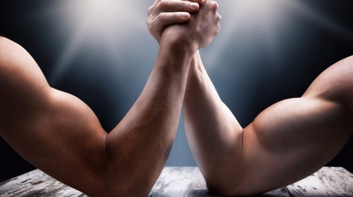 Arm wrestling 715x400 - 3 Surprising Exercises to Improve Arm Wrestling Performance